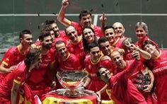 Nadal cùng tuyển Tây Ban Nha dễ dàng đăng quang Davis Cup