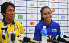 Hòa tuyển nữ Việt Nam, HLV nữ Thái khá vui: 'Tôi hài lòng'