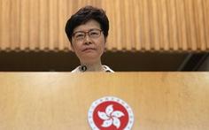 Carrie Lam: 'Kết quả bầu cử cho thấy người dân không hài lòng với chính quyền'