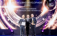 Gamuda Gardens được vinh danh 'Best Housing Development' tại Asia Property Awards 2019