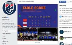 Fanpage bóng đá Thái Lan chặn người dùng tại Việt Nam?