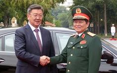 Việt Nam - Mông Cổ ký thỏa thuận hợp tác về quốc phòng