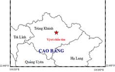 Động đất 4,7 độ Richter vừa xảy ra tại Cao Bằng vào sáng nay 28-11
