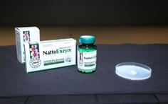 Chuyên gia Nhật thực nghiệm công dụng phòng đột quỵ của nattokinase