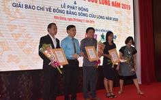 Báo Tuổi Trẻ đoạt giải ba báo chí về ĐBSCL năm 2019