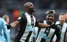 Gặp Newcastle, Manchester City chỉ có được 1 điểm sau 2 lần dẫn bàn