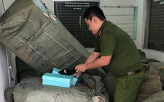 Tạm giữ để xác minh gần 8 tấn hàng Trung Quốc