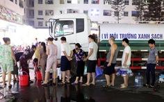 Súc rửa bể xả thẳng ra suối Đồng Bãi, Công ty nước sạch Sông Đà lại bị 'tuýt còi'