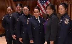 Ở New York, đi đâu cũng gặp cảnh sát gốc Á