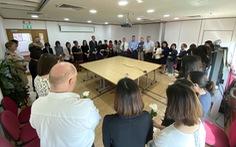 Sứ quán Anh tại Việt Nam tưởng niệm 39 nạn nhân trong container