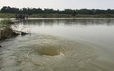 Lại xảy ra chết đuối ở vị trí lật đò trên sông Trà Khúc