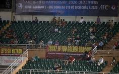 Sân Thống Nhất vắng tanh ngày U19 Việt Nam mở màn vòng loại châu Á 2020