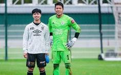 Video Công Phượng không thắng được thủ môn tuyển Thái Lan trong pha đối mặt trên đất Bỉ