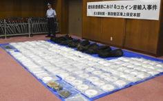 Nhật lần đầu bắt giữ đến 400kg cocaine