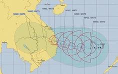 Bão số 6 ảnh hưởng trực tiếp ven biển Quảng Ngãi - Khánh Hòa từ chiều tối 10-11