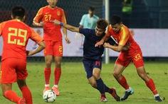U23 Thái Lan thua Trung Quốc 1-2 ngay trên sân nhà