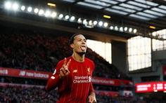 Van Dijk lập cú đúp, Liverpool bỏ xa Man City 11 điểm
