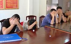 Nhóm thanh niên từ Đồng Nai xuống Vũng Tàu thuê biệt thự để chơi ma túy