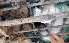 Xuất hiện cầu ở Hà Tĩnh thi công bằng bêtông cốt 'xốp'