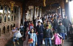 Khách tới Tràng An gần gấp đôi khuyến nghị của UNESCO, Ninh Bình khẳng định không quá tải