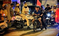 Công an TP.HCM ra quân chống 'bão' sau trận U22 Việt Nam - Indonesia
