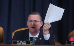 Luật sư Dân chủ và Cộng hòa đấu nhau suốt 10 tiếng về luận tội tổng thống