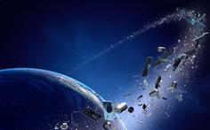 Lần đầu con người đưa máy dọn rác khổng lồ vào không gian