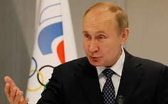 Tổng thống Putin lên tiếng vụ Nga bị cấm thi Olympic và World Cup