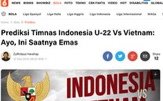 Báo Indonesia: 'Đã đến lúc đem vàng về nhà'