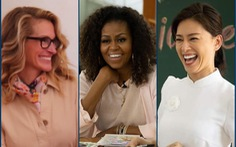 Bà Obama, Ngô Thanh Vân, Julia Roberts... cười 'hết cỡ' ở Long An