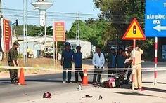 Bình Dương: Công an xã chặn xe máy bị cướp tông gãy chân