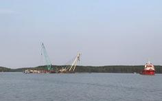 Tìm thấy thi thể 1 trong 3 thợ lặn mất tích khi trục vớt tàu chìm ở Cần Giờ
