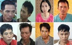 Nhóm bị cáo cưỡng bức, sát hại nữ sinh giao gà hầu tòa sáng 26-12