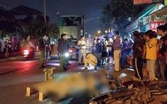 Đi ăn tối, một người đàn ông bị xe container cán chết tại chỗ