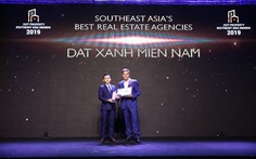 Đất Xanh Miền Nam đoạt giải Best Real Estate Agencies Southeast Asia 2019