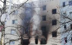 Nổ lớn tại tòa nhà chung cư Đức, ít nhất 25 người bị thương