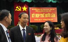 Ông Nguyễn Văn Thọ giữ chức chủ tịch UBND tỉnh Bà Rịa - Vũng Tàu