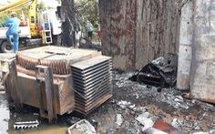 Nổ trạm biến áp tại Bình Chánh, TP.HCM, khoảng 300 hộ dân mất điện