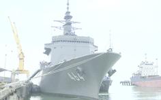 Video: Tàu quét mìn Nhật Bản thăm thành phố Đà Nẵng