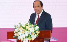 Bộ trưởng Mai Tiến Dũng: 'Bắt tận tay day tận trán, không thể để tự tiện ban hành'