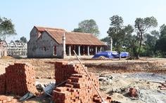 Vụ xây chùa 'triệu đô': Đề nghị trả lại đất đã lấn chiếm