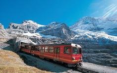 Thụy Sĩ: Đi tàu thay máy bay để giảm phát thải khí CO2