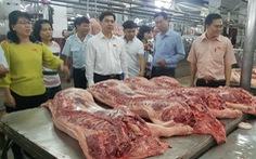 Cam kết đủ 100% thịt heo tết cho người dân TP.HCM