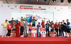 Giải Marathon quốc tế TP.HCM Techcombank 2019: 'Cùng nhau vượt trội hơn mỗi ngày'