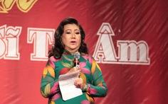 NSND Kim Cương: Đỡ mệt chút đã vận động quà cho Nghệ sĩ tri âm