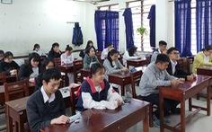 Học sinh bất ngờ với đề thi 'từ bỏ cũng là một lựa chọn'
