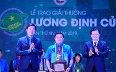 34 nhà nông trẻ nhận giải thưởng Lương Định Của năm 2019