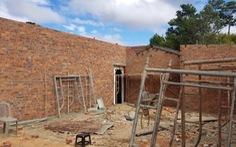 Thiếu tá công an phá nhà công vụ rồi xây nhà trái phép