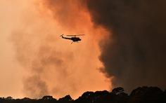 Mùa Giáng sinh ngột ngạt vì cháy rừng