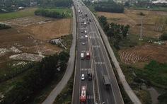 Đường gom vào cao tốc TP.HCM - Trung Lương hoạt động trước Tết Dương lịch